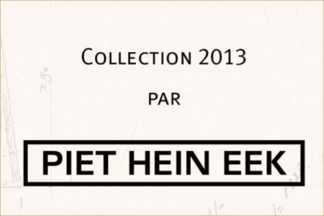 Collection PIET HEIN EET 2013, champagne Ruinart, Lyon